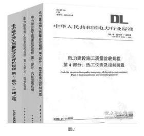 现货书_DL/T 5210.4—2018 电力建设施工质量验收规程 第4部分:热工仪表及控制装置