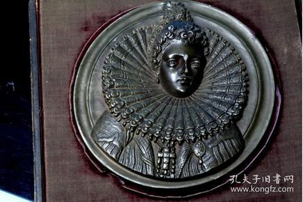 法国 大铜章 436克 直径14厘米 材质像石头 因该是烧制,类似紫砂