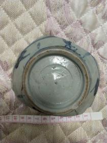 茉莉瓷片~清代民国民窑口碗底瓷片