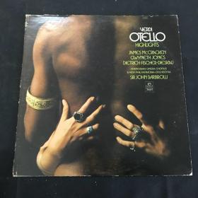 黑胶唱片 VERDI OTELLO HIGHLIGHTS