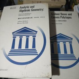 解析几何与代数几何:相同问题、不同方法   基和凸多胞体(两本合售)