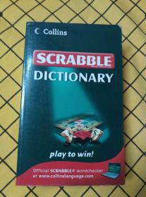 SCRABBLE DICTIONARY(英文原版)