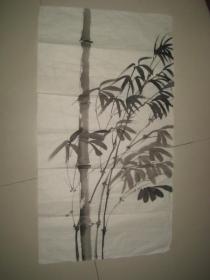 """名人花鸟画作品一幅""""竹"""""""