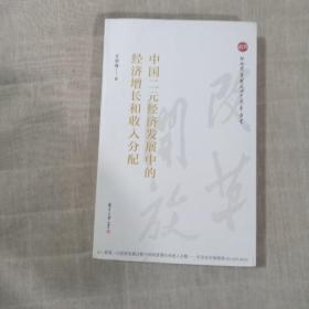 中国二元经济发展中的经济增长和收入分配(16开毛边本)