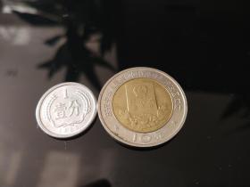 庆祝中华人民共和国香港特别行政区成立--10元纪念币
