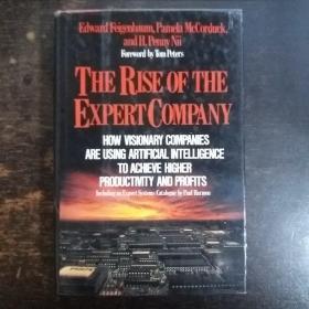 英文原版:The Rise of the Expert Company【专家公司的兴起,爱德华费根鲍姆,英文原版,32开精装本】