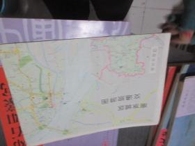 南京城区交通旅游图