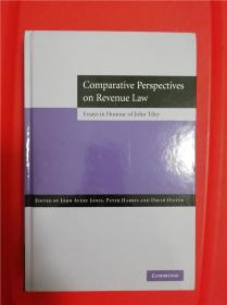 Comparative Perspectives on Revenue Law (税法比较)研究文集