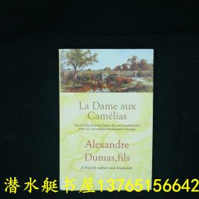 茶花女 小仲马 La Dame aux Camelias 英文原著