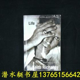 Life Keith Richards 滚石乐队创始人、吉他手、摇滚音乐人传记 多彩图