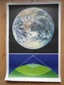 地球(小学地理教学挂图(一)10(4))