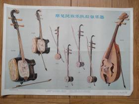常见民族乐队拉弦乐器(音乐教学挂图(一)12 (7))