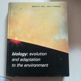 biology:evolution and adaptation to the environment(英文原版)