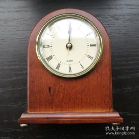 【耐看 舒服】西洋 老 座钟 The Bombay Company  正常使用 15cm高