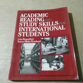 ACADEMIC READING AND STUDY SKILLS FOR INTERNATIONAL STUDENTS(英文版)