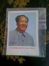 小画片:伟大领袖毛主席万岁万岁万万岁【128开】