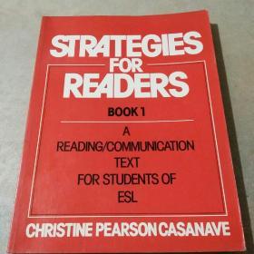 STRATEGIES FOR READERS(英文版)