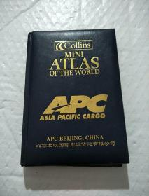 Collins Mini Atlas of the World【皮面精装,金边。】