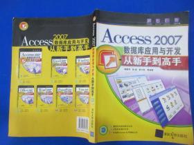 Access2007数据库应用与开发从新手到高手   无光盘