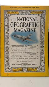 the national  geographic magazine 1959年 9月版