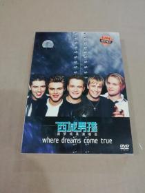 西城男孩美梦成真演唱会DVD(含海报等、有外包装盒,看图)。