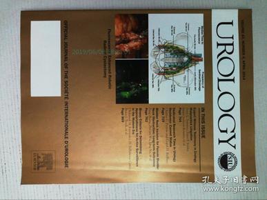 Urology (journal) 2018/04/4 泌尿学肾脏学医学学术论文考研期刊
