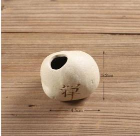 极品顶级内空可养花的小陶器【禅】陶罐收藏珍品