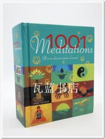 一千零一心灵疗愈 1001 Meditations: How to Discover Peace of Mind
