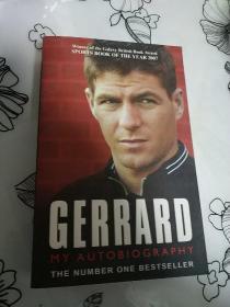 杰拉德自传 英文原版 Gerrard My Autobiography