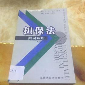 担保法案例评析——新经济·法律案例评析丛书