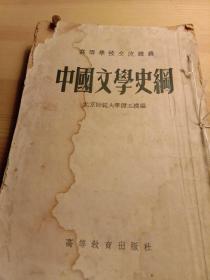 中国文学史纲