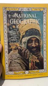 national geographic 1965年 4月