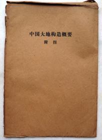 中国大地构造概要附图(共10张)