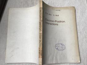 Electron-Positron Interactions 电子-正电子相互作用(英文,Wilk,Bjorn H.,and Wolf,Gunter. 著)