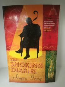 The Smoking Diaries by Simon Gray (Granta Books 2005年版)(英国文学)英文原版书
