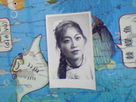 老照片;五十年代美女