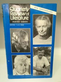 Poetry Series IX:45th Anniversary (Quaterly Review of Literature) (诗歌)英文原版书