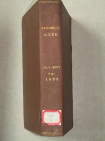 Chemical WeeK【1953.4.11.18.25.1.8.15.22.29.5.12.19.26期合订本】