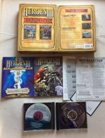 英雄无敌3 合集 大盒子 电脑游戏
