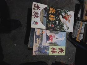 杂志:武林1984年5.6.7期3本合售