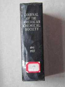 JOURNAL OF THE AMERICAN CHEMICAL SOCIETY 49-1[1927]