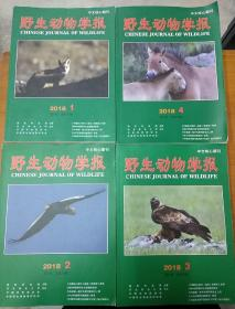 野生动物学报(2018.1.2.3.4)四册合售