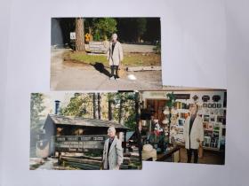 """2004年旅游美国加州""""大峡谷""""""""优胜美蒂国家公园""""拍摄的照片6张(15乘10厘米)"""