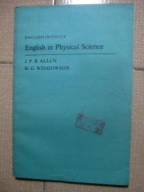 ENGLISH IN FOCUS English in physical science