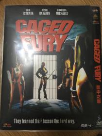 实拍 美国 笼中之怒 Caged Fury (1989) DVD