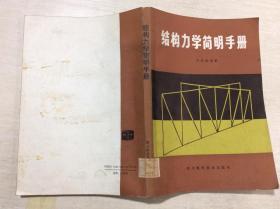 结构力学简明手册.