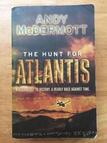 英文原版 The hunt for atlantis