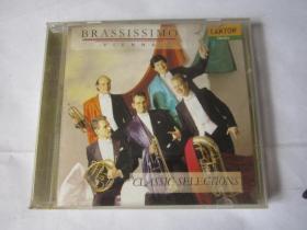 CD   光盘    唱片         BRASSISSIMO  铜管乐妙技