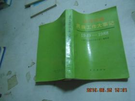 当代中国民族工作大事记1949---1988