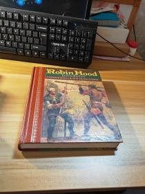 原版精装插图毛边本《ROBIN HOOD LOUIS RHEAD ILLUSTRATED IN COLOR BY FRANK GODWIN》印刷精美